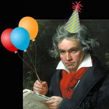 Image result for beethoven's birthday