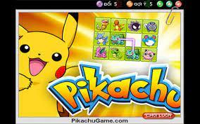 Chơi game pikachu - Chơi cùng những chú pokemon