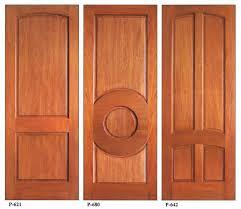 wooden panel door designs front door and side panel designs