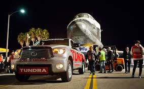 How a 2012 Toyota Tundra Towed the Space Shuttle Endeavour - Truck ...
