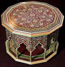 Image Living Room Moroccan Furniture Decorating Fabrics And Materials For Moroccan Decor Lushome Moroccan Furniture Decorating Fabrics And Materials For Moroccan