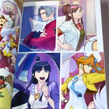 gyakuten saiban ace attorney 6 official visual book
