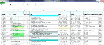 Project Schedule Template Calendar Email Excel To Do Sample Plan In ...