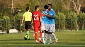 Trabzonspor'dan Ümraniyespor karşısında bol gollü prova