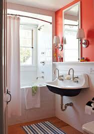 Decorating Tiny Bathrooms Bathroom Awesome Tiny Bathroom For Small Space With Compact Sink