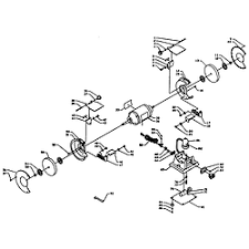 craftsman bench grinder parts model sears partsdirect grinder