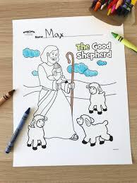 The Lord Is My Shepherd Sunday School Activities