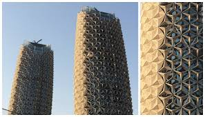 al bahar towers an iconic building in