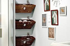 Bathroom wall decor rectangular box shelves. Diy Bathroom Wall Art Ideas Layjao