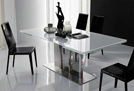 modern dining table. Amazing Modern Dining Room Table Extendable L