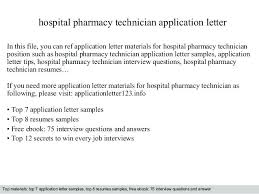 Sample Cover Letter For Pharmacist Pharmacy Technician With No