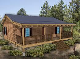 Beautiful Hunting Cabin Kit Bedroom Log Plan