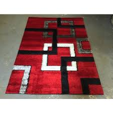 black white red rug gy area rug modern floor decor red black white squares large rug new style carpet black white and red throw rugs
