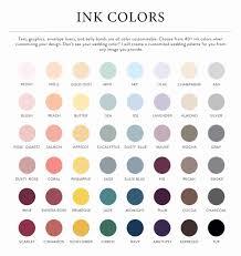 Amethyst Color Chart Lily Envelope Liner
