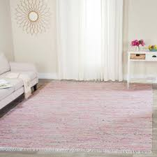 safavieh rag rug light pink multi 8 ft x 10 ft area rug