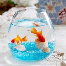 Goldfish Bowl Decorations AQUARIUM FISH TANK AQUARIUM clear glass for your desk decor mini 3