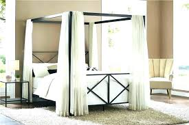 white metal canopy bed – sacramentogaragedoors.co