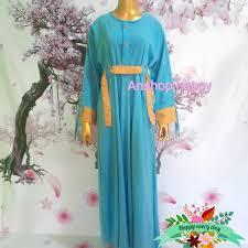 Gunakan warna gold untuk kesan mewah. Jual Gamis Dewasa Warna Biru Terang Kombinasi Gold Kota Bekasi Anshop Happy Tokopedia