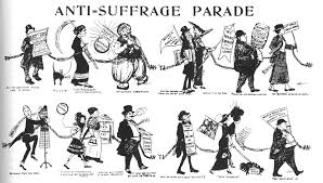 women s suffrage and art ida sedgwick proper the anti suffrage parade w s journal sept 21 1912
