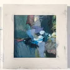 a collection of small abstract paintings by shar coulson