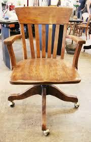 antique wooden office chair. chair furniture antique wooden office appraisal within desk on wheels u2013 best a