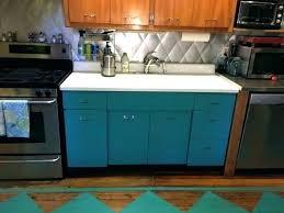 vintage metal kitchen cabinets manufacturers i have a sink cabinet for meta