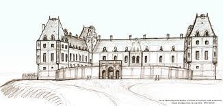 Dessin De Chateau De La Renaissance L L
