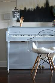 chalk paint piano by two thirty five designs 2