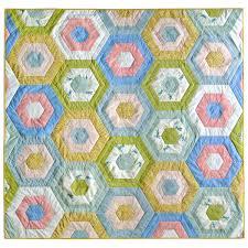 Hexie Stripe Quilt Pattern (Download) - Suzy Quilts & Hexie-Stripe-Quilt-Pattern-Download Adamdwight.com