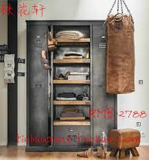 industrial storage cabinet with doors. Plain Doors American Vintage Industrial Metal Wardrobe Cabinets LOFT Style  Retro Cargo Storage Lockers With Door To Industrial Storage Cabinet With Doors P