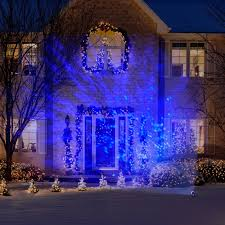 Outdoor Led Christmas Projection Lights Lightshow Blue Light Projection Christmas Swirling Effect Led Outdoor Light