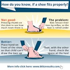 How Do You Know If A Shoe Fits Properly Shoe Size Chart
