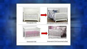 solid wood full size conversion kit bed rails for baby cache cribs white