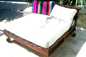 daybed plans pallet outdoor frame diy mattress