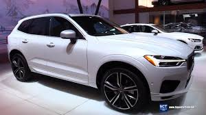volvo xc60 2018 redesign. unique volvo 2018 volvo xc60 t8 r design  exterior interior walkaround debut at 2017  new york auto show for volvo xc60 redesign