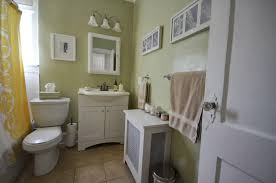 Benjamin Moore Green Bathroom In The Little Yellow House Source List