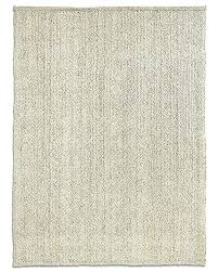 bleached jute rug 9 12