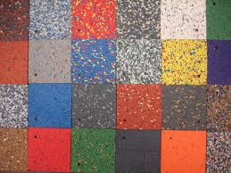 recycled rubber flooring outdoor. Modren Rubber Flooring Colorful Outdoor Recycled Rubber Tile Design Some  Benefits Of Compared With Other Material On