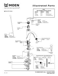 moen bathtub faucet parts diagram new new moen kitchen faucet fix