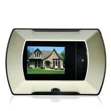 Front Door Peephole Security Camera No Hidden Digital Viewer ...
