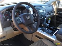 Light Pebble Beige/Bark Brown Interior 2011 Dodge Ram 1500 Big ...