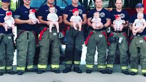 7 Oklahoma firefighters go viral after becoming fathers within ...