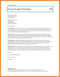 3 4 Plain Cover Letter A Plain Cover Letter Template With Your Name