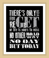 Rent Quotes Awesome RENT Musical No Day But Today Quote Modern Print Poster