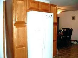 built in refrigerator cabinet. Refrigerator Cabinet Surround Built In Ator Cabinets Around Or Installing A G