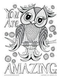 Free Printable Owl Mandala Coloring Pages Free Printable Owl Mandala