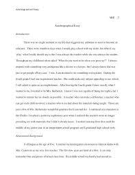 autobiography essay my autobiography essay