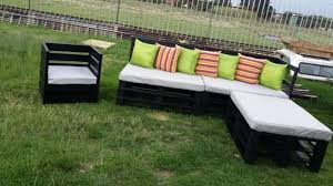 diy outdoor furniture with wooden bars