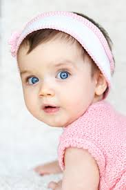 Baby In Pink Top Free Stock Photo