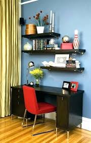 Floating shelf desk Storage Floating Shelf Desk Above Desk Shelves Shelves Above Desk Over Desk Shelving Best Ideas Floating Shelves Donerkebabco Floating Shelf Desk Isbreadingorg